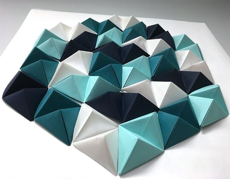 Triangle // Geometric Paper Wall Art