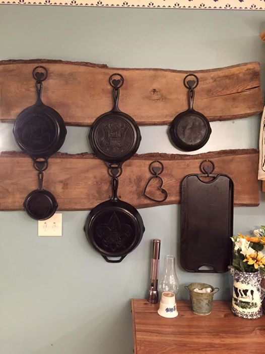 17 Best Images About Cast Iron Display Ideas On Pinterest
