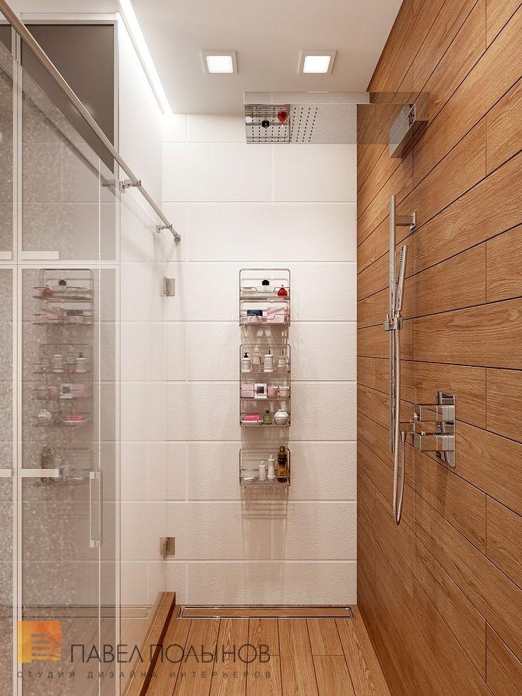 Фото ванная комната из проекта «Дизайн квартиры 70 кв.м. в современном стиле, ЖК «Новомосковский»»