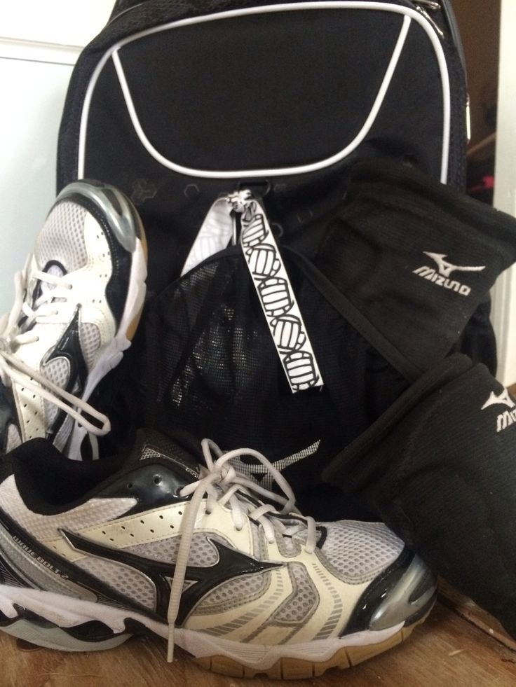 #5 Snap a pic of something Mizuno: Shoes, kneepads, and volleyball bag! :)