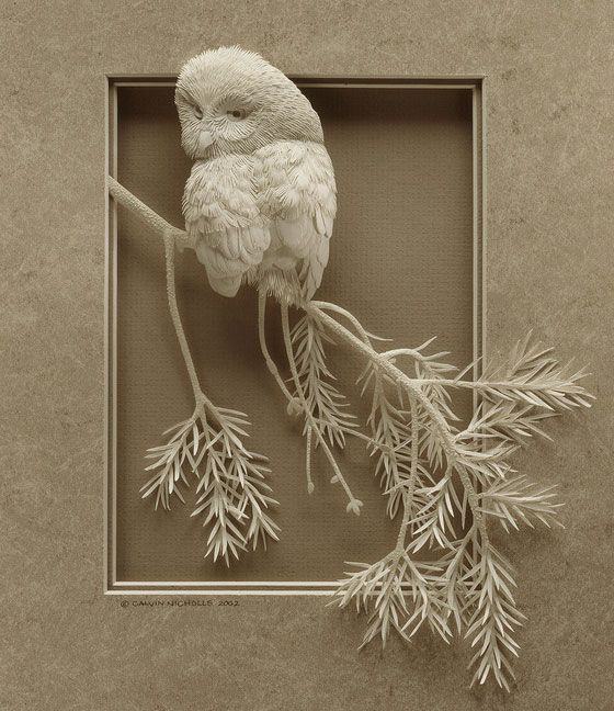 Best Paper Birds Images On Pinterest Paper Paper Birds And - Artist creates amazing paper sculptures ever seen