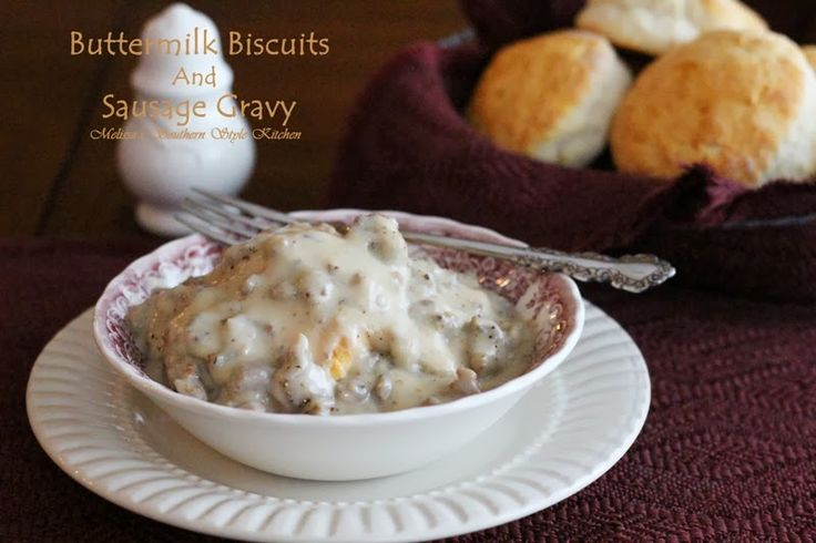 Buttermilk Biscuits And Sausage Cream Gravy Recipes — Dishmaps