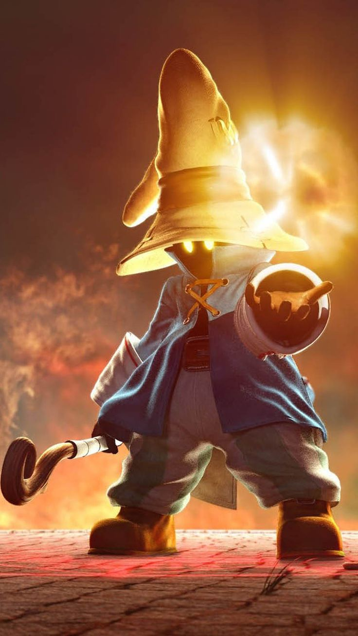 Final Fantasy IX - Vivi - my favourite character from 9