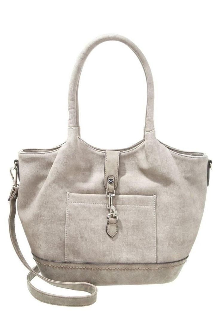Tom Tailor CAMILLA - Handbag - taupe taupe photo #1