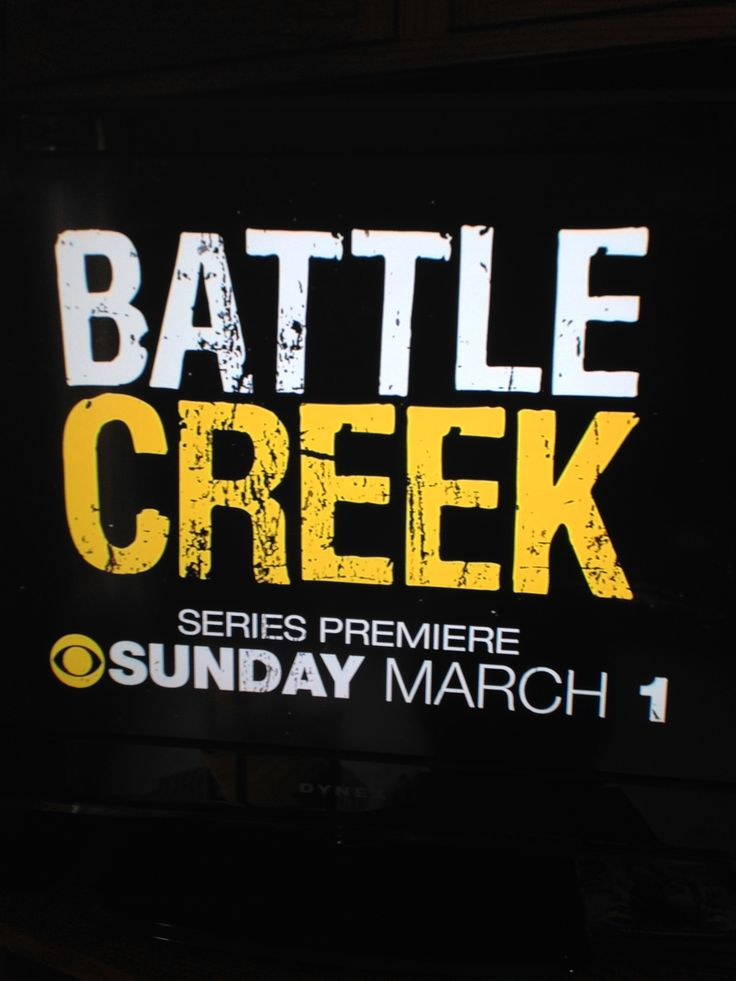 Battle Creek show | Distressed typography #advertising #promotional