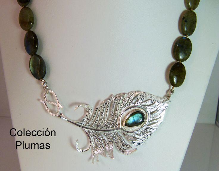 Collar labradorita dije plata 950 piedra central labradorita #hecho a mano #joyería de autor #joyería en plata, #labradorita
