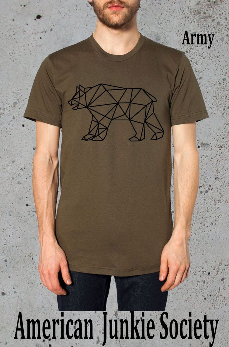 The 25 best mens graphic tees ideas on pinterest graphic tee geometric bear shirt grizzlies tshirtamerican apparelmens graphic tee guys t shirt publicscrutiny Image collections