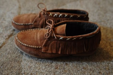 Chaussures Les Tropeziennes style indien / Beige, camel / 37 FR / Nubuck / Malway / Automne - Hiver