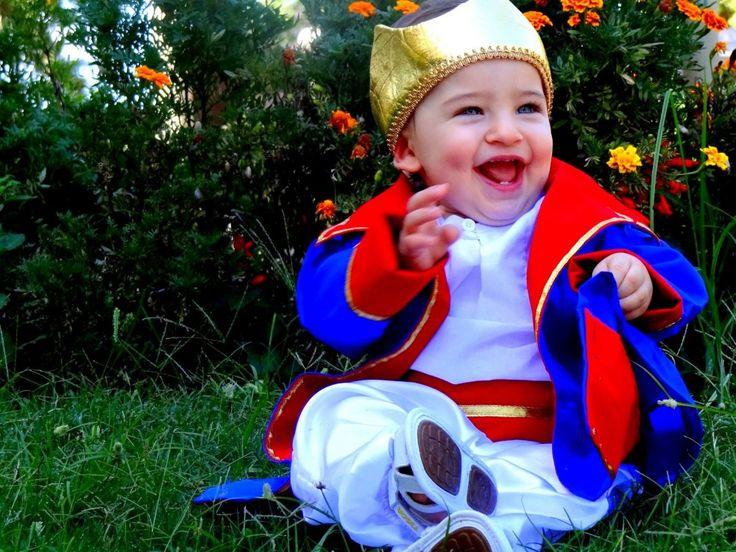 Fantasia Principe bebê Luxo c/ coroa  - foto principal 6