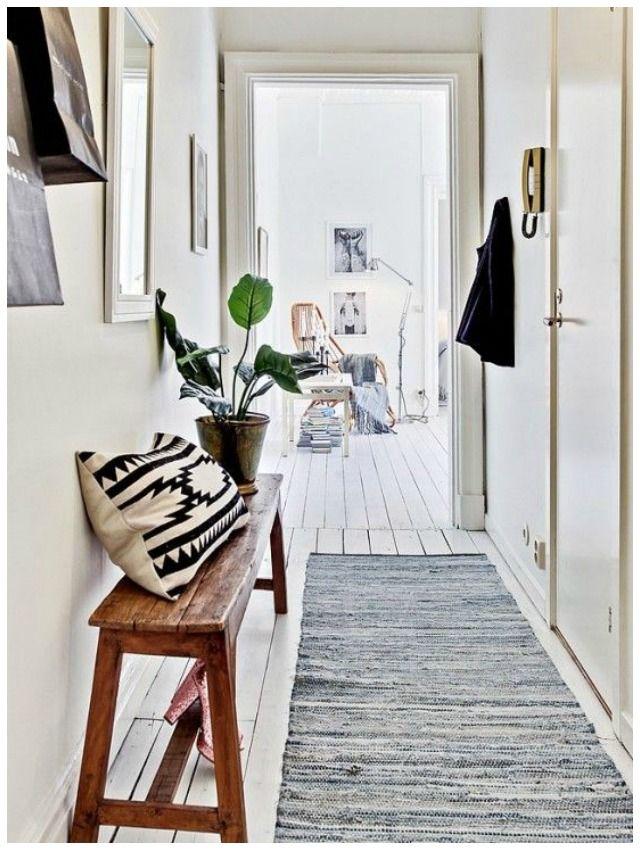10 ideas sobre decoraci n de pasillo estrecho en for Espejos estrechos