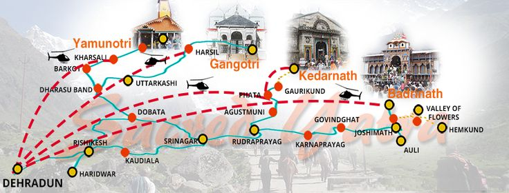 CharDham Yatra is considered to be the most pious journey for Hindus. Chardham temples are situated in the midst of the mesmerizing mountains of Uttarakhand