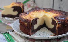 ¿Os gusta el brownie? ¿Y la tarta de queso? | https://lomejordelaweb.es/ Pinterest ^^ | https://pinterest.com/Ilovecocina
