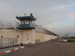 Prison - Many modern prisons are surrounded by a perimeter of high walls, razor wire or barbed wire, motion sensors and guard towers in order to prevent prisoners from escaping