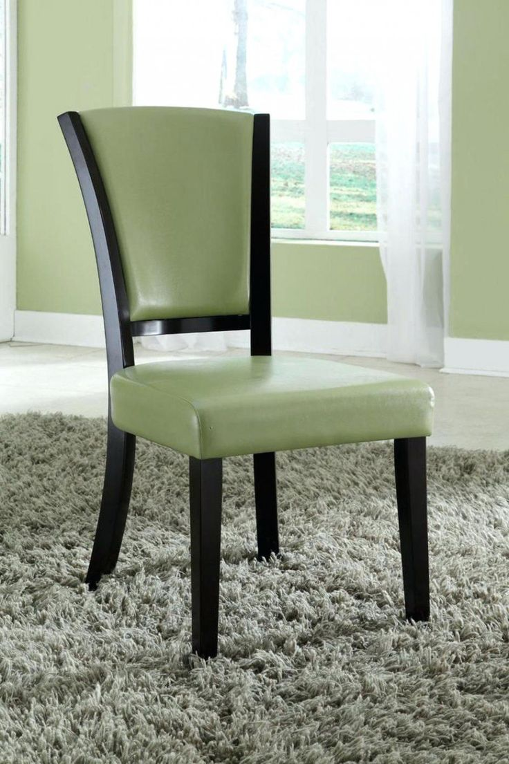 Best 25 Leather Dining Chairs Ideas On Pinterest  Modern Dining Pleasing Green Leather Dining Room Chairs Inspiration Design