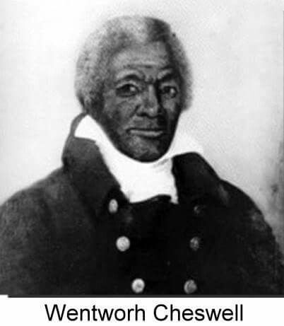 Please like, comment and share April 11, 1746 - Wentworth Cheswell was born on this date in 1746. He was a Black businessman and politician. From Newmarket, NH Cheswell was the only child of Hopestill and Catherine Keniston Cheswell. There is virtually no information about Catherine Keniston in Newmarket town records. However, the various local historians and genealogists generally accept that she came from a local Newmarket/Durham family, and that she was white. Like his father before him…