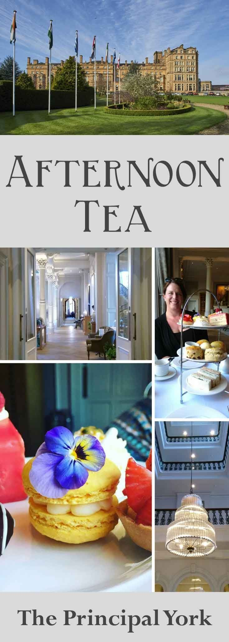 Looking for a decadent Afternoon Tea? York has lots to offer! Have a look at my review of the Principal York Hotel (Formerly The Royal York Hotel).  From salmon or cucumber sandwiches, to cake, macarons, tartlets and scones with jam and clotted cream.  Breakfast, Earl Grey, Ceylon, Lady Grey Teas.