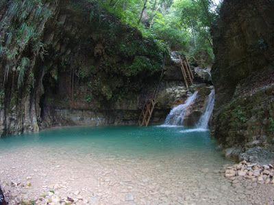 """Dominikanische Republik : Wasserfälle von """"Damajagua"""" Imbert im Norden der ..."""