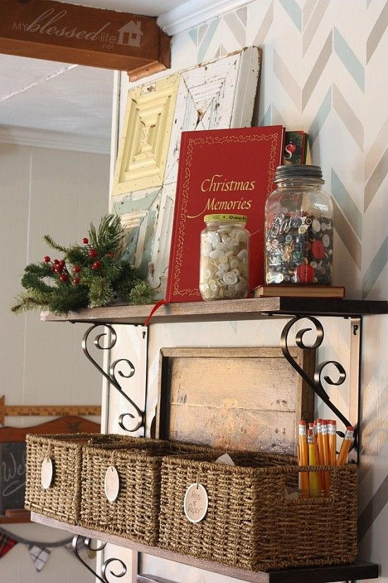 Christmas Pinterest Christmas Home Home Tours And Cottage