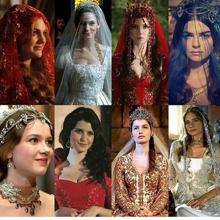 Ottomen queens as brides