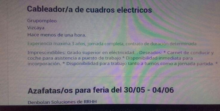 """En este anuncio,encontramos una falta de ortografía en la palabra """"electricos"""" del titulo, ya que debería ir acentuada porque es una palabra esdrújula."""