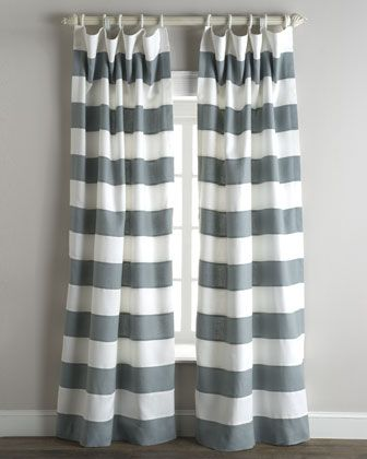 """Tuscany"" Stripe Curtains"