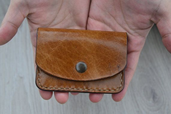SALE 40% OFF leather cardholder by NHLdesign on Etsy