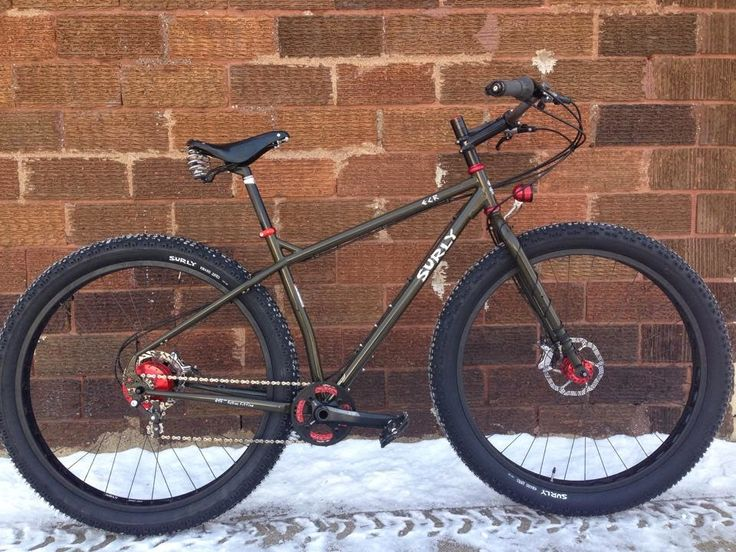 Surly ECR with red accents