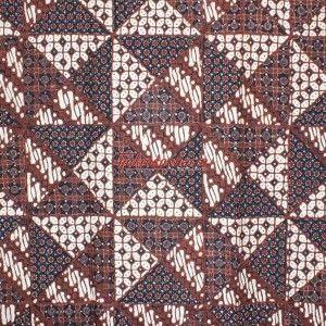 Tjokrosuharto collection. Batik Yogya 'Tambal'