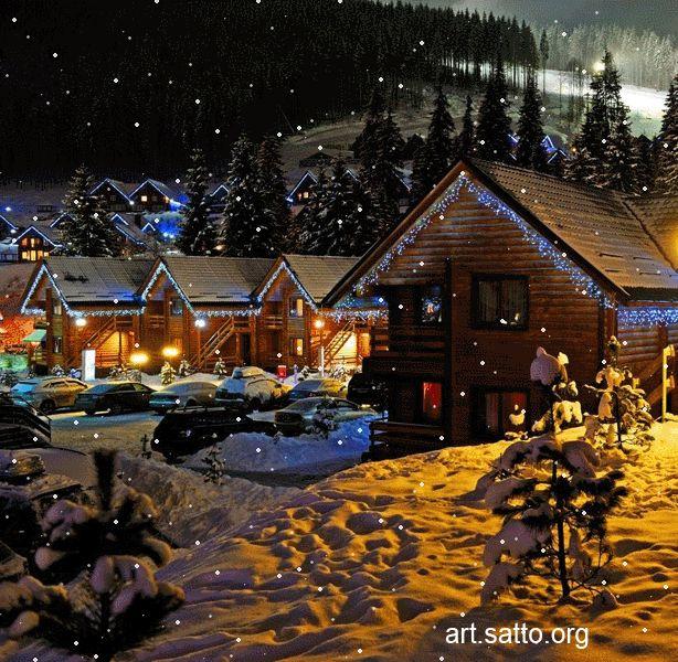198 best GIF's (WINTER) images on Pinterest | Snow, Winter scenes ...