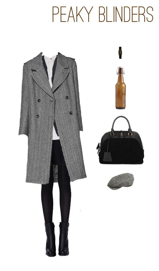 EmilyStyle: What to Wear: Peaky Blinders. Menswear outfit for the modern woman based on the show.