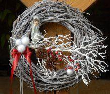 Luxusní vánoční věnec