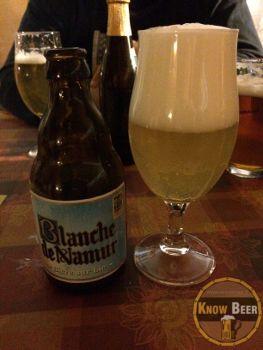 Birra belga fresca e leggera, con una storia centenaria molto interessante. Birra Blanche de Namur