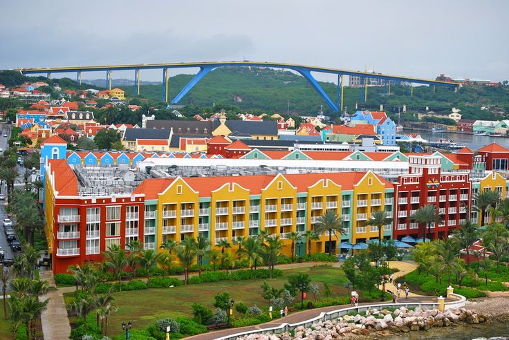 Willemstad, Curacao, Caribbean   The 24 Most Colorful Cities In TheWorld