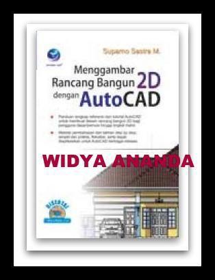 """Menggambar Rancang Bangun 2D dengan AutoCAD  + cd  Kategori(Sub): Komputer (Desain Teknik) ISBN: 978-979-29-4332-0 Penulis: Suparno Sastra M UkuranHalaman: 16x23 cm  x+326 halaman EdisiCetakan: I, 1st Published Tahun Terbit: 2015  Sinopsis Buku """"Menggambar Rancang Bangun 2D dengan Autocad"""" merupakan sebuah buku panduan yang berisi tutorial dan latihan untuk membuat desain Arsitektur. Secara spesifik buku ini akan membahas tentang metode-metode pembuatan desain rancang bangun dalam bentuk 2D…"""