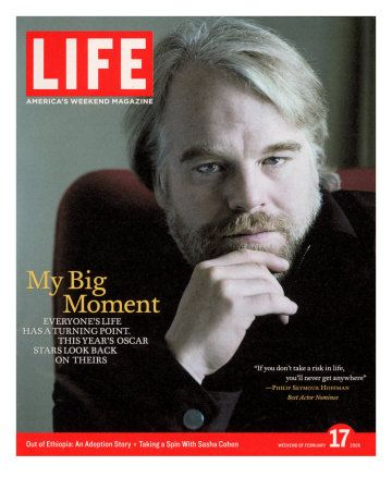 Phillip Seymour Hoffman, 46, talented Actor, & father of three (all under the age of 13; 2 girls, 1 boy) died yesterday from drug overdose. So tragic, so very sad...