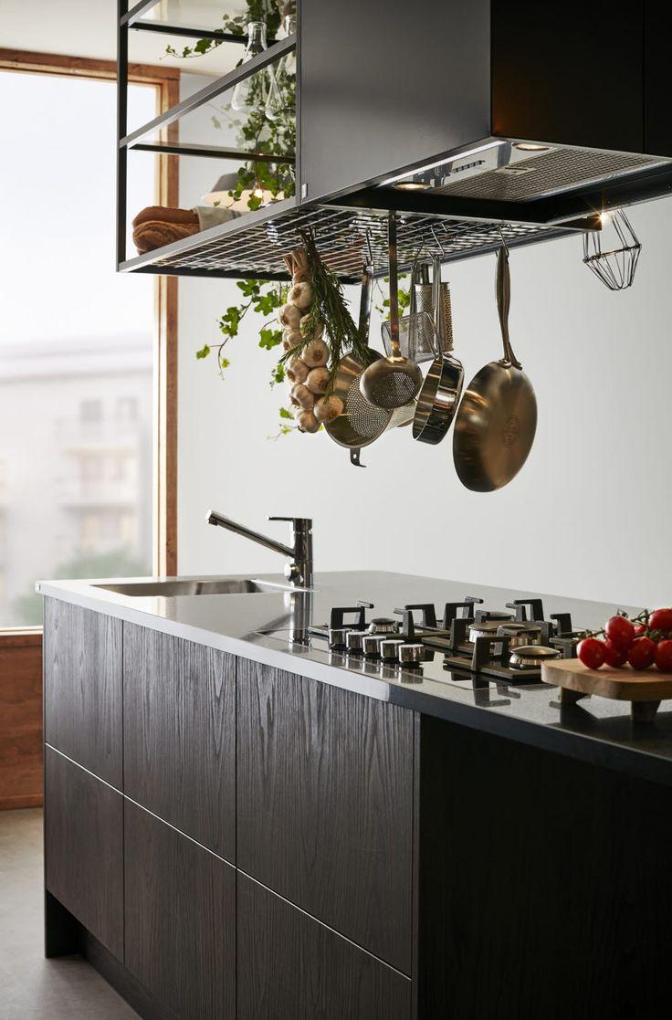A la Carte -keittiöt Bistro - kattohylly #keittiö #kitchen #bistro