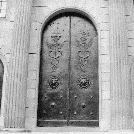 Material Matters: Metal #metal #door #bronze #bank #sculptural #london #bank #of #england