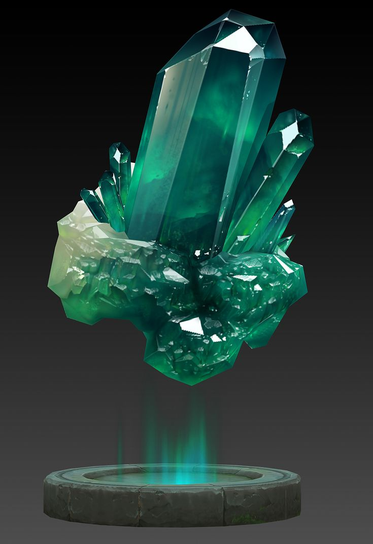 оригинальным кристаллы с картинками егда готов теорию