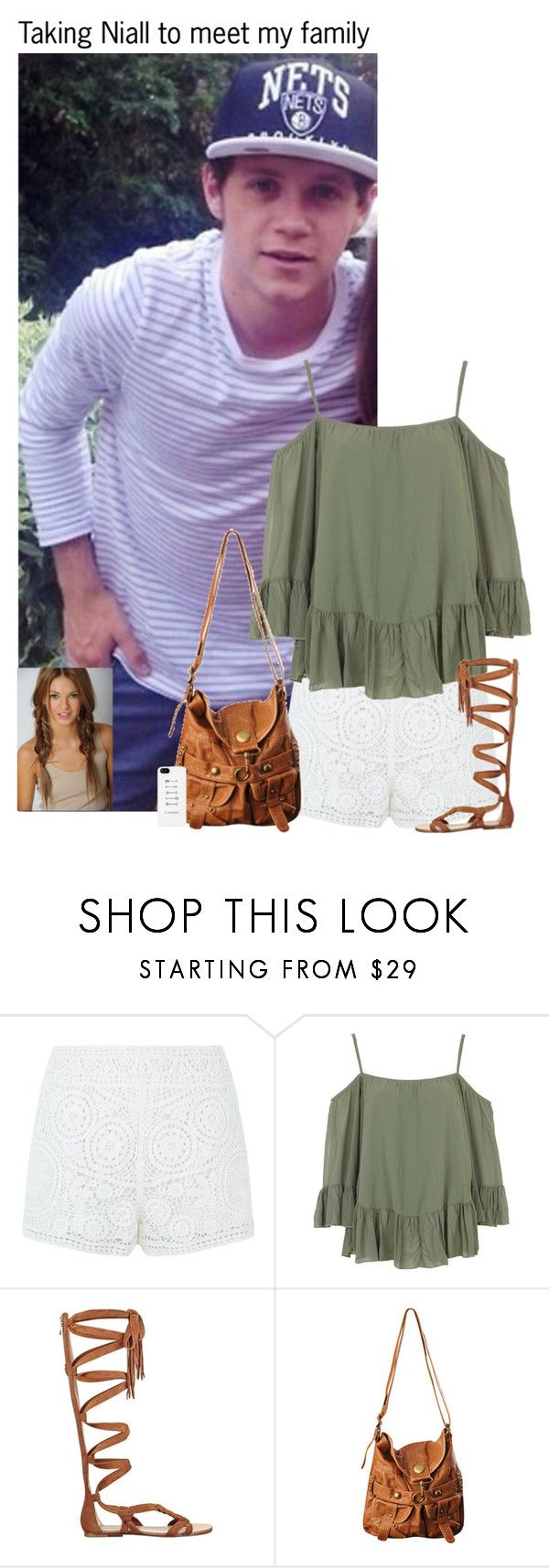 """Taking Niall to meet my family"" by kateremington-1 ❤ liked on Polyvore featuring Chloé, WalG, Sigerson Morrison and Forever 21"