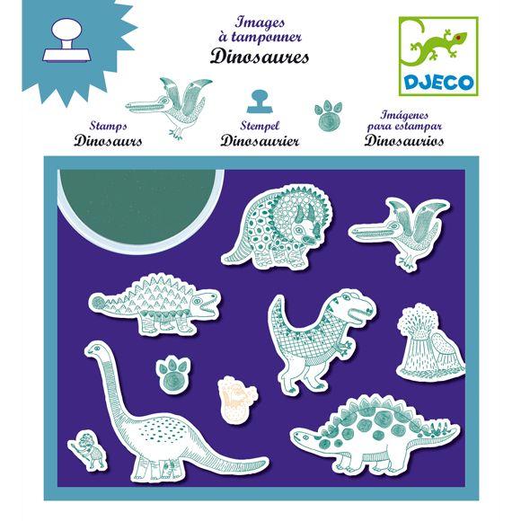 Dinoszauruszok nyomda Djeco | Pandatanoda.hu Játék webáruház