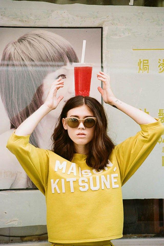 Le lookbook printemps/été 2014 de Kitsuné