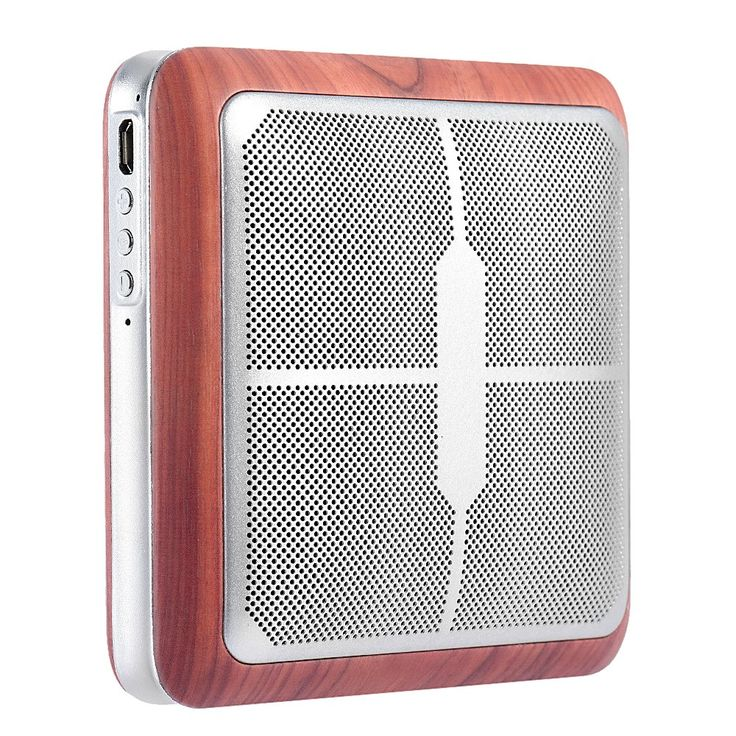 Only US$22.37, brown Q8 Portable Aluminum Hi-Fi Wireless Bluetooth Speaker CSR | Shopping in China starts @ SealSmile.com