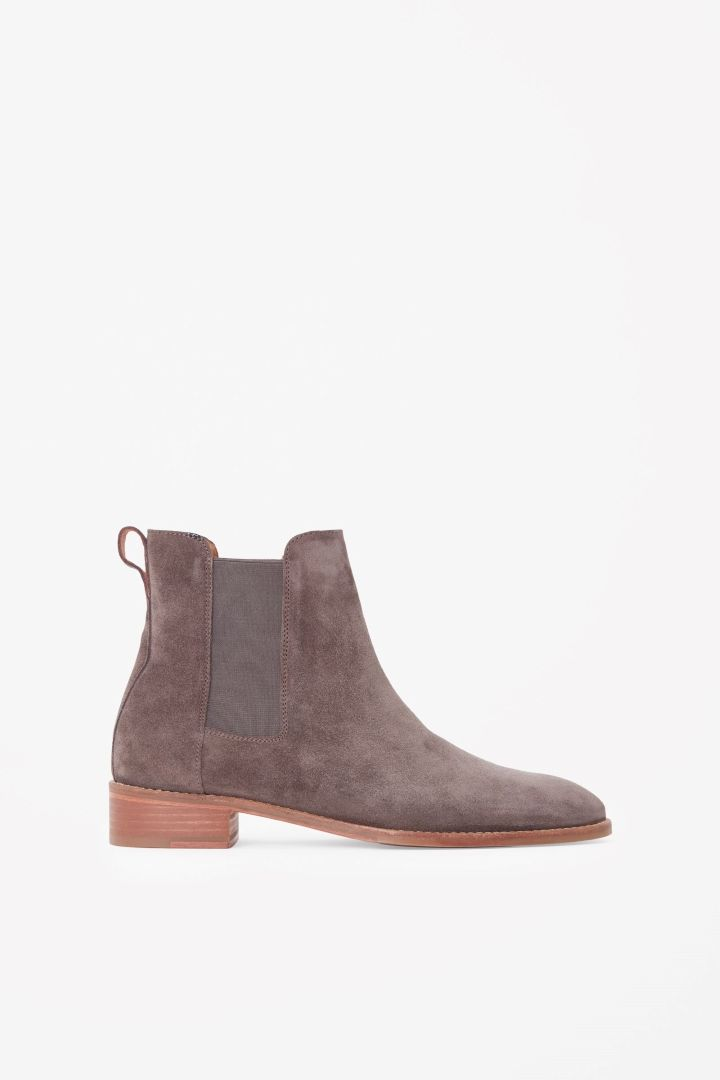 COS image 4 of Chelsea boots in Brown
