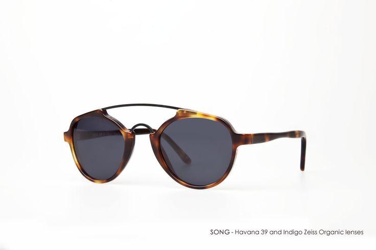SONG in Havana 39 with Indigo Zeiss Organic lenses
