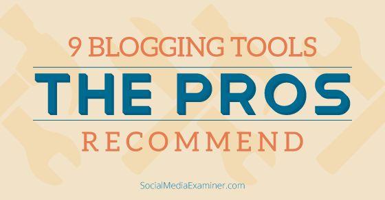 Świeże zestawienie narzędzi pomocnych blogerom - tym obecnym jak i przyszłym.