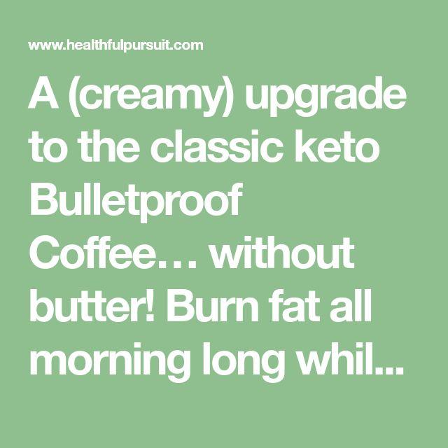 Keto White Chocolate Rocket Fuel Latte