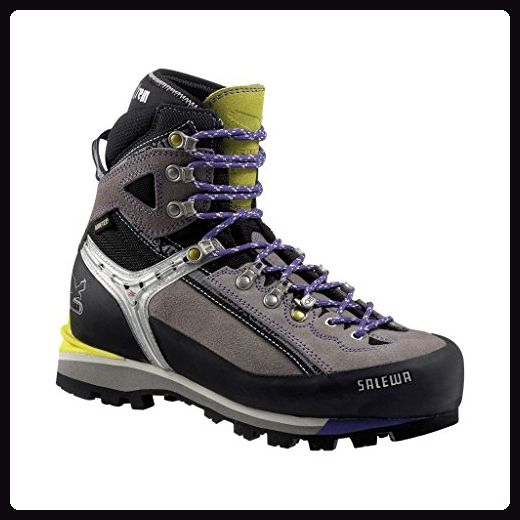 SALEWA WS CONDOR EVO GTX (N), Damen Trekking- & Wanderstiefel, Grau (0407_Grey/Sulphur), 38 EU (5 Damen UK) - Stiefel für frauen (*Partner-Link)