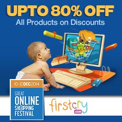 Find Firstcry fresh discount coupons, coupons deals, coupon codes and promo codes on couponsbag.in. Shop online and Save more money and time with Firstcry coupons.