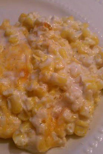 Cream Cheese Corn Casserole. Christmas recipe done right! #christmasrecipe