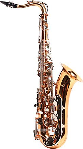 Vito V7141T Student Tenor Sax Outfit Lacquer  Post-in-place construction  Treated pads  High F# key  Gold lacquer finish  5-year Conn-Selmer warranty